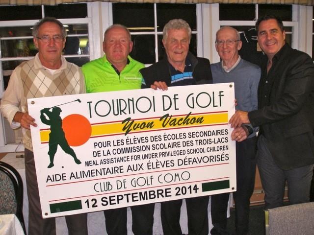 Tournoi de Golf 2014